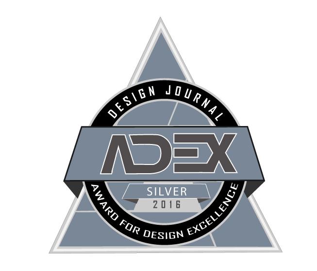 ADEX Award for Design Excellence Silver 2016